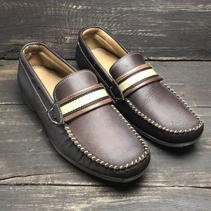 Rodson Men's Leather Loafers Size 6